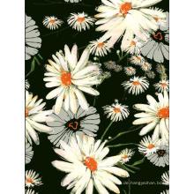 Daisy-Design aus Polyester gedruckte Kleidungsstück Webstoff