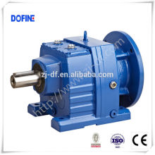 DOFINE R series helical geared reductor electrical gear box