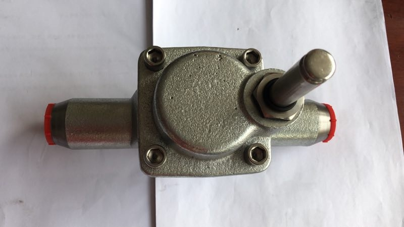 Physical map of 1'' inch cast iron body Ammonia EVRA 25 Refrigeration Solenoid Valve