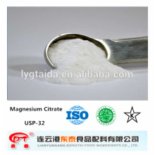 MgCA Food Grade Magnesium Citrat, Chelatbildner, Calcium Fortifier, Fabrik,
