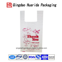 Professionally Custom Logo Printed Shopping Plastic Bags Packaging