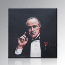 Pintura famosa Handmade do retrato