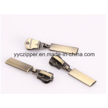 Altamente Plating Anti-Brass Metal Zipper Slider para Jacket