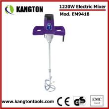Misturador de almofariz elétrico da velocidade 1400W de Sigle do misturador de cimento da telha da pintura