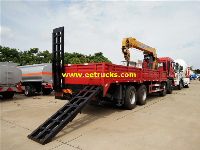 XCMG 8x4 20ton Truck Mounted Cranes