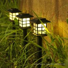 Солнечный свет лужайки открытый водонепроницаемый заземляющий светильник