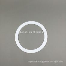 China high quality white color PTFE o ring gasket