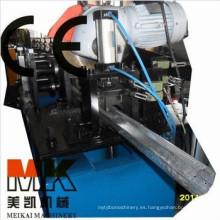 Tubo de tubo octagonal para puertas de obturador que hace máquina / rodillo que forma la maquinaria