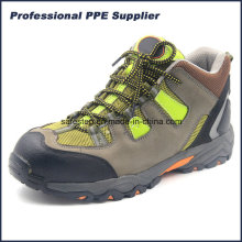 Cementing Soft Outsole Imperméable à l'eau Léger Randonnée Chaussures de sécurité