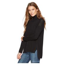 Suéter de Cashmere macio 100% Cashmere PK18A35HX feminino