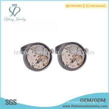 Mens gravierte Vintage Manschettenknöpfe, maßgeschneiderte Uhren Manschettenknöpfe Schmuck