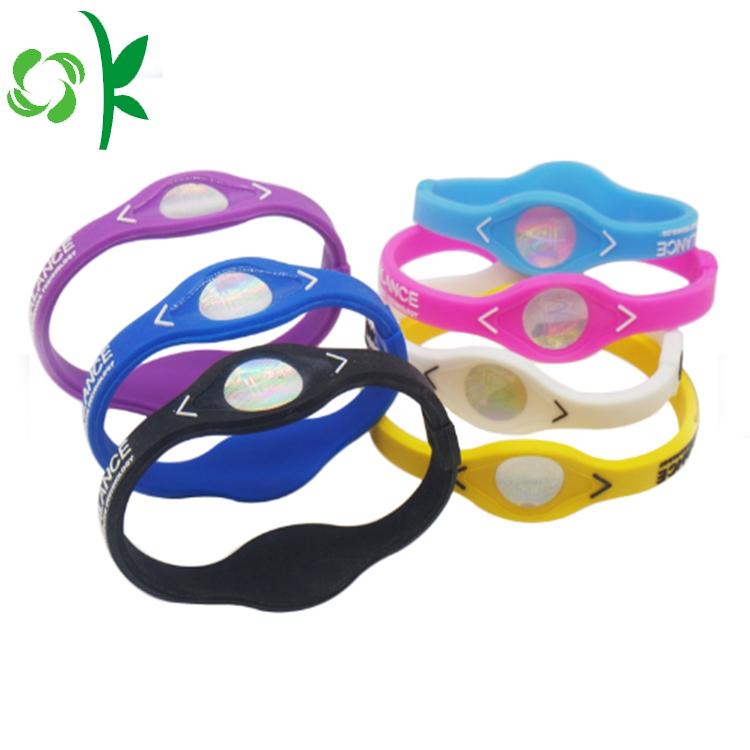 silicone energy bracelet