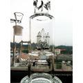 9mm Dicke Qualität Rauchen Pfeife Rocket Prec Glas Wasser Rohr Inliner Perkolator Hbking Wasser Rohr
