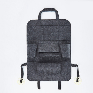 Felt Car Backseat Organizer voor baby-reisaccessoires