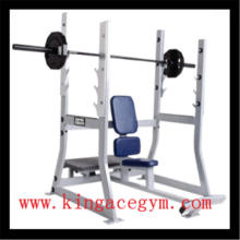 Ce Certification Gym Equipment Banco militar olímpico comercial