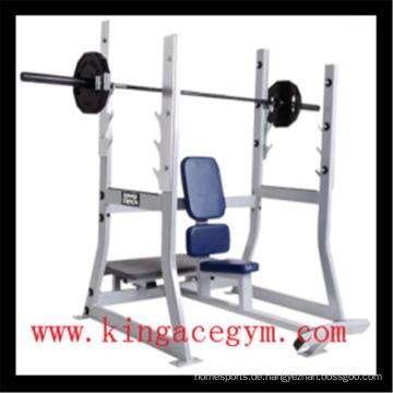 Ce-Zertifizierung Gym Equipment Commercial Olympic Militärbank