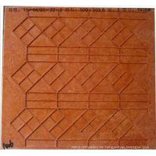 Temperature resistance mosaic tile grid mould
