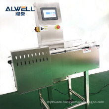 Automatic dynamic food conveyor belt auto check weigher