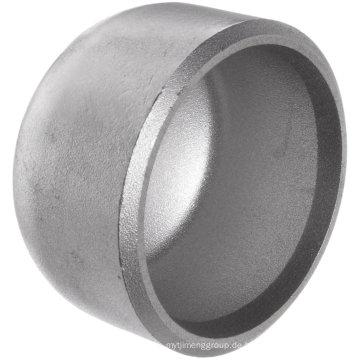 Rohrkappe Butt-Weld Edelstahl