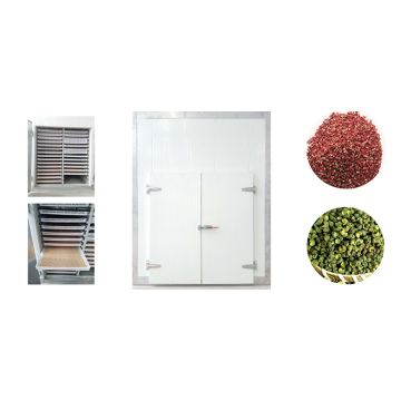 Pepper drying machine, pepper drying equipment, color good speed and high quality.