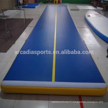 Tapis gonflables durables de plancher d'air de gymnastique de dégringolade de meilleur prix à vendre