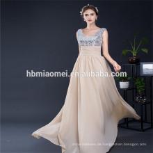 Heißer Verkauf Konkurrenzfähiger Preis Vintage Pailletten Maxi Hochzeit Brautjungfer Frau Sexy Abendkleid