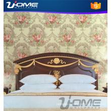 Uhome моды глубокие рельефные виниловые обои--декор стен