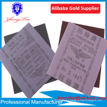 Flying wheel brand aluminium oxide abrasive cloth sheet for cleaning engine parts