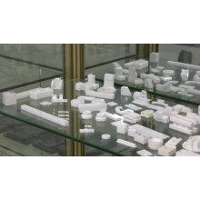 Industrial High Hardness Black Dental Zirconia Ceramic Plate