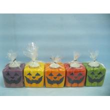 Artisanat en céramique en forme de bougie de Halloween (LOE2372A-7z)