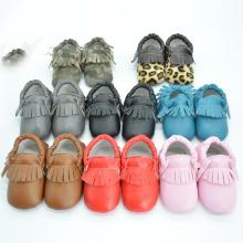 Самые новые ботинки младенца зимы младенца ботинок младенца зимы PU теплые младенческие (kx715 (18)