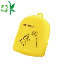 Small Silicone Coin Purse Lovely Cartoon Mini Wallet