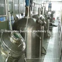 Refinería de petróleo de la máquina de refinación del aceite de girasol 10t / D