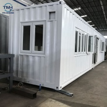 Easy assemble prefab flat pack 40ft shipping container house