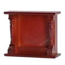 Doll's Furniture Wooden Fireplace Miniature Accessories