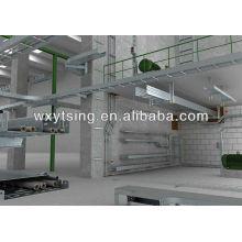 YTSING-YD-000171 De Bonne Qualité Chemin de câbles en acier perforé faisant la machine / petit pain de chemin de câbles en acier formant la machine