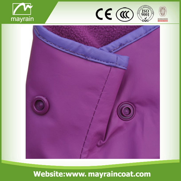 Purple PU pants