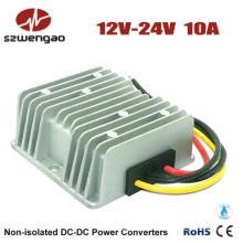 Aumente el convertidor de potencia de 12V CC a 24V DC 10A