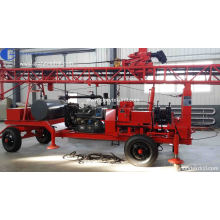 150m Trailer Type Borehole Drilling Rig for Sale