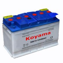 Seque a bateria carregada DIN88-88ah 12V do caminhão de bateria ácida da bateria do veículo