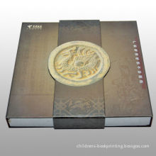 Cardboard Hardcover Book Printing Cmyk Full Color With Embossed Logo