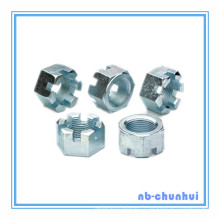 Hex Nut Hexagon Slotted Nut-1-1 / 4 ~ 1-1 / 2