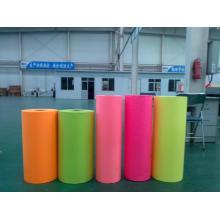 adesivos de negócios fluorescente rosa