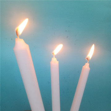 Flameless White Color Lilin Lilin Murah