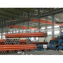 ASTMA106 Q235 / Q345 tubo sch40 erw para alimentación de fluido
