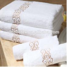 Alta qualidade 5 estrelas algodão 100% algodão toalhas de hotel