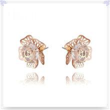 Kristallschmucksache-Art- und Weisezusatz-Legierungs-Ohrring (AE144)
