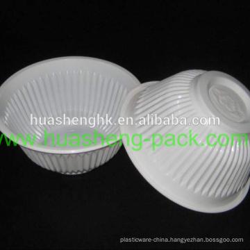 Food Grade Microwavable 550ml / 18oz Disposable Plastic Pasta Bowl