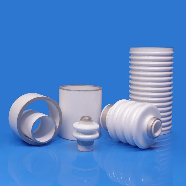 Metallized ceramic cylinders