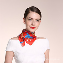 2017 factory directly sale fashion cheap good quality two-sided silk scarf